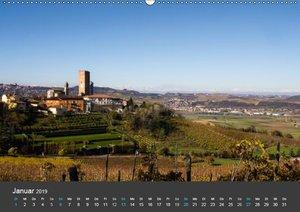 Piemont im Herbst: Wein und Trüffel (Wandkalender 2019 DIN A2 qu
