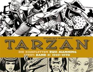 Tarzan: Die kompletten Russ Manning Strips / Band 3 1969 - 1970