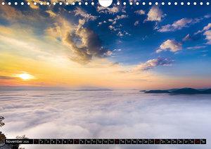 Nebelwelten Sächsische Schweiz (Wandkalender 2020 DIN A4 quer)