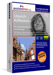 Litauisch-Aufbaukurs, PC CD-ROM mit MP3-Audio-CD