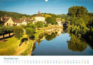 Malerisches Frankreich (Wandkalender 2020 DIN A2 quer)