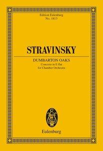 "Concerto in Es ""Dumbarton Oaks"""