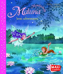 MAXI Maluna Mondschein lernt schwimmen