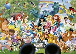 Disneys Wunderbare Welt II (Puzzle), 1000 Teile
