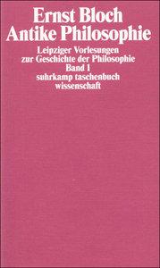 Leipziger Vorlesungen zur Geschichte der Philosophie 1/4