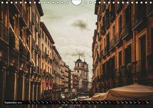 Hauptstadt Madrid (Wandkalender 2019 DIN A4 quer)
