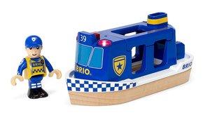 BRIO 33820000 Polizeiboot mit Licht und Sound