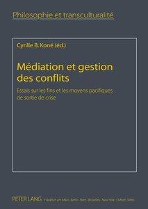 Médiation et gestion des conflits