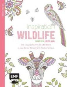 Inspiration Wildlife (Ausmalbuch für Erwachsene)