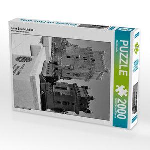 Torre Belem Lisboa 2000 Teile Puzzle hoch