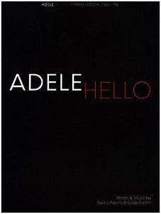 Adele: Hello (Piano Vocal Guitar Sheet Music)