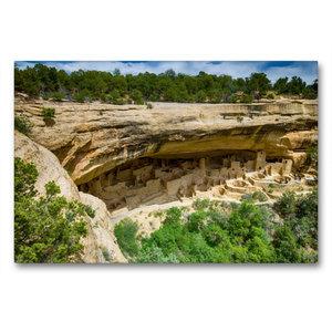 Premium Textil-Leinwand 90 cm x 60 cm quer Mesa Verde NP