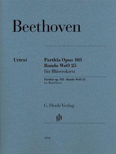 Parthia op. 103 und Rondo WoO 25 für Bläseroktett