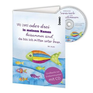 CD-Card \'Wo zwei oder drei ...\'