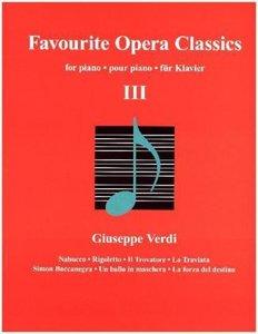 Favourite Opera Classics, für Klavier. Bd.3