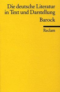 Die deutsche Literatur 4 / Barock
