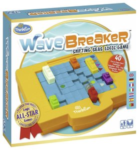 Ravensburger 76332 - ThinkFun®, Wave Breaker, Logik-Spiel, Denks