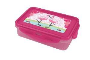 Flamingo Lunch To Go mit 4 Clips und 2 Einsätzen