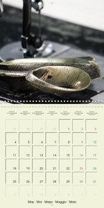 Historic Sewing Tools (Wall Calendar 2020 300 × 300 mm Square)