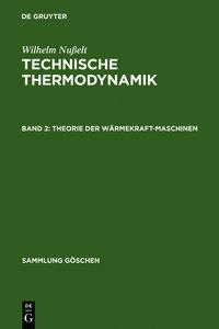 Theorie der Wärmekraftmaschinen