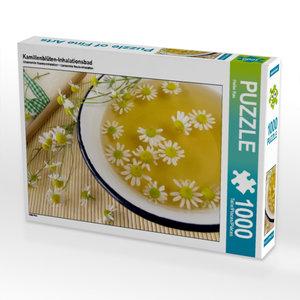 Kamillenblüten-Inhalationsbad 1000 Teile Puzzle quer