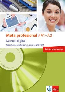 Meta profesional. DVD-ROM monolingual A1-A2