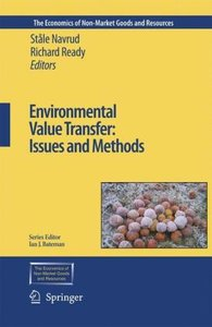 Environmental Value Transfer: Issues and Methods