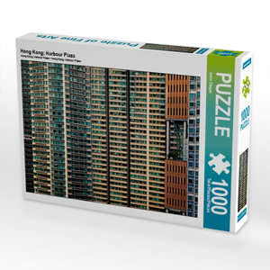 Hong Kong; Harbour Plaza 1000 Teile Puzzle quer