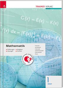 Mathematik 1 BAKIP Erklärungen, Aufgaben, Lösungen, Formeln