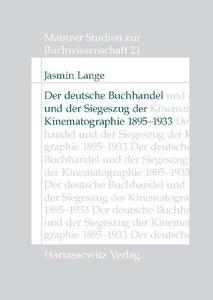 Der deutsche Buchhandel und der Siegeszug der Kinematographie 18