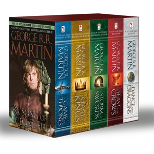 A Game of Thrones 1-5 Boxed Set. TV Tie-In