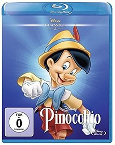 Pinocchio, 1 Blu-ray