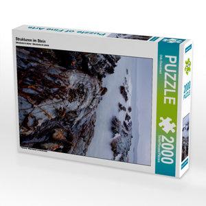 CALVENDO Puzzle Strukturen im Stein 2000 Teile Lege-Größe 67 x 9