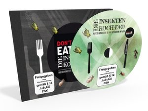 Don\'t Cry, Eat it - Die Insekten Koch-DVD, 1 DVD