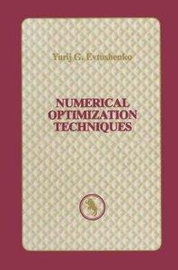 Numerical Optimization Techniques