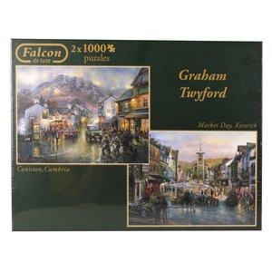 Falcon - Graham Twyford - 2 x 1000 Teile