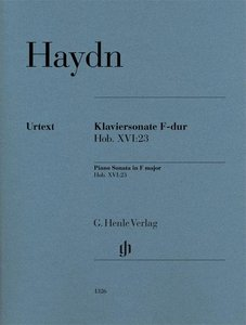Klaviersonate F-dur Hob. XVI:23