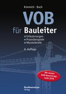 VOB für Bauleiter