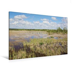 Premium Textil-Leinwand 120 cm x 80 cm quer Ten Thousand Islands