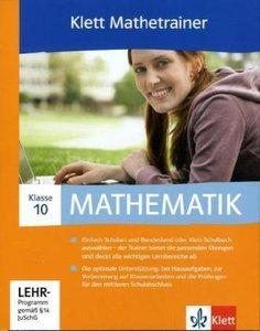 Klett Mathetrainer. Lehrwerksbegleitende Schülersoftware passend