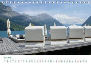 Tirol - Rund um den Achensee (Tischkalender 2019 DIN A5 quer)