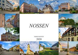 Nossen Impressionen (Wandkalender 2020 DIN A2 quer)