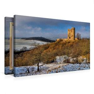 Premium Textil-Leinwand 75 cm x 50 cm quer Burgruine Arnstein