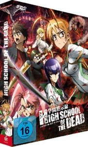 Highschool of the Dead - Gesamtausgabe, 3 DVDs
