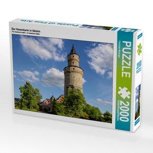 Der Hexenturm in Idstein 2000 Teile Puzzle quer