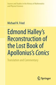Edmond Halley's Reconstruction of the Lost Book of Apollonius's