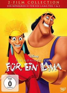 Ein Königreich für ein Lama 1+2, 2 DVDs