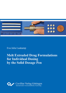 Melt Extruded Drug Formulations for Individual Dosing by the Sol
