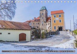 Hohnsteiner Impressionen - Sächsische Schweiz (Tischkalender 202
