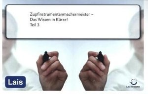 Zupfinstrumentenmachermeister - Das Wissen in Kürze